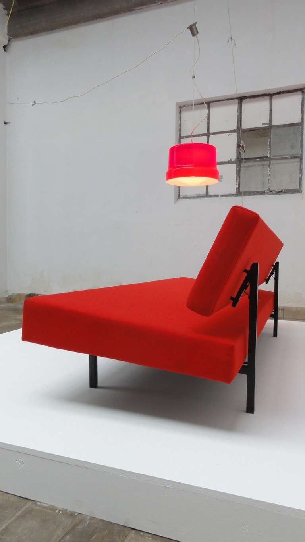 Stunning Large Red Vistosi Pendant For Sale 1