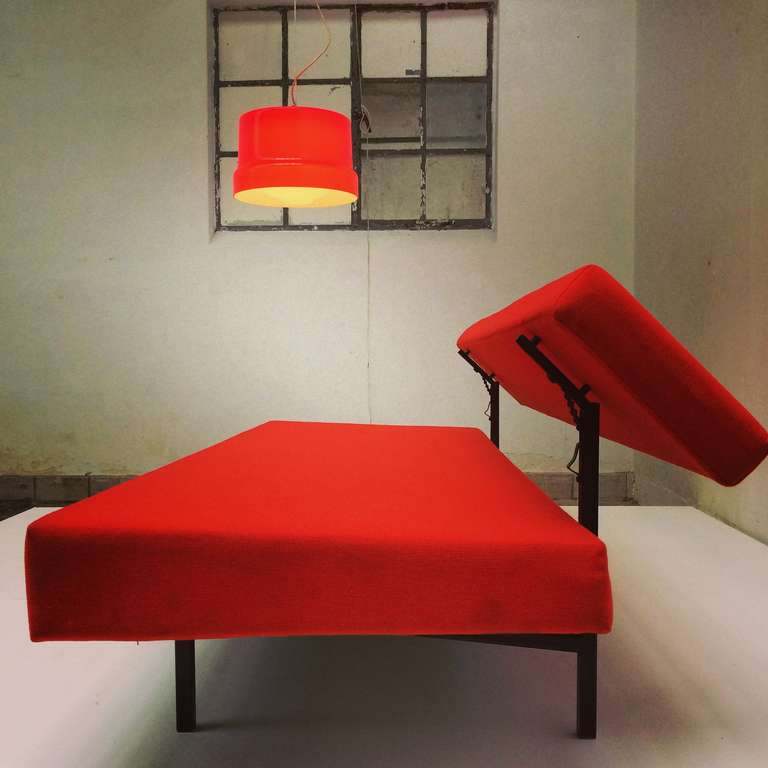 Stunning Large Red Vistosi Pendant For Sale 3