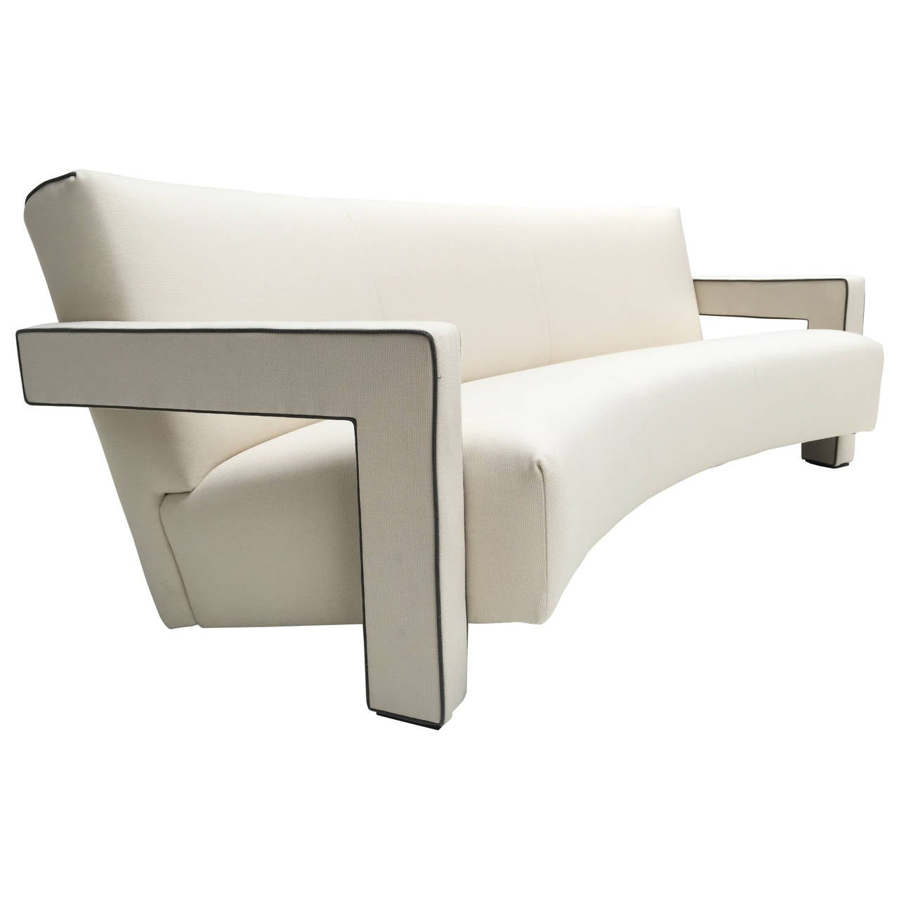 Gerrit rietveld furniture - Stunning De Stijl Gerrit Rietveld Utrecht Sofa Cassina
