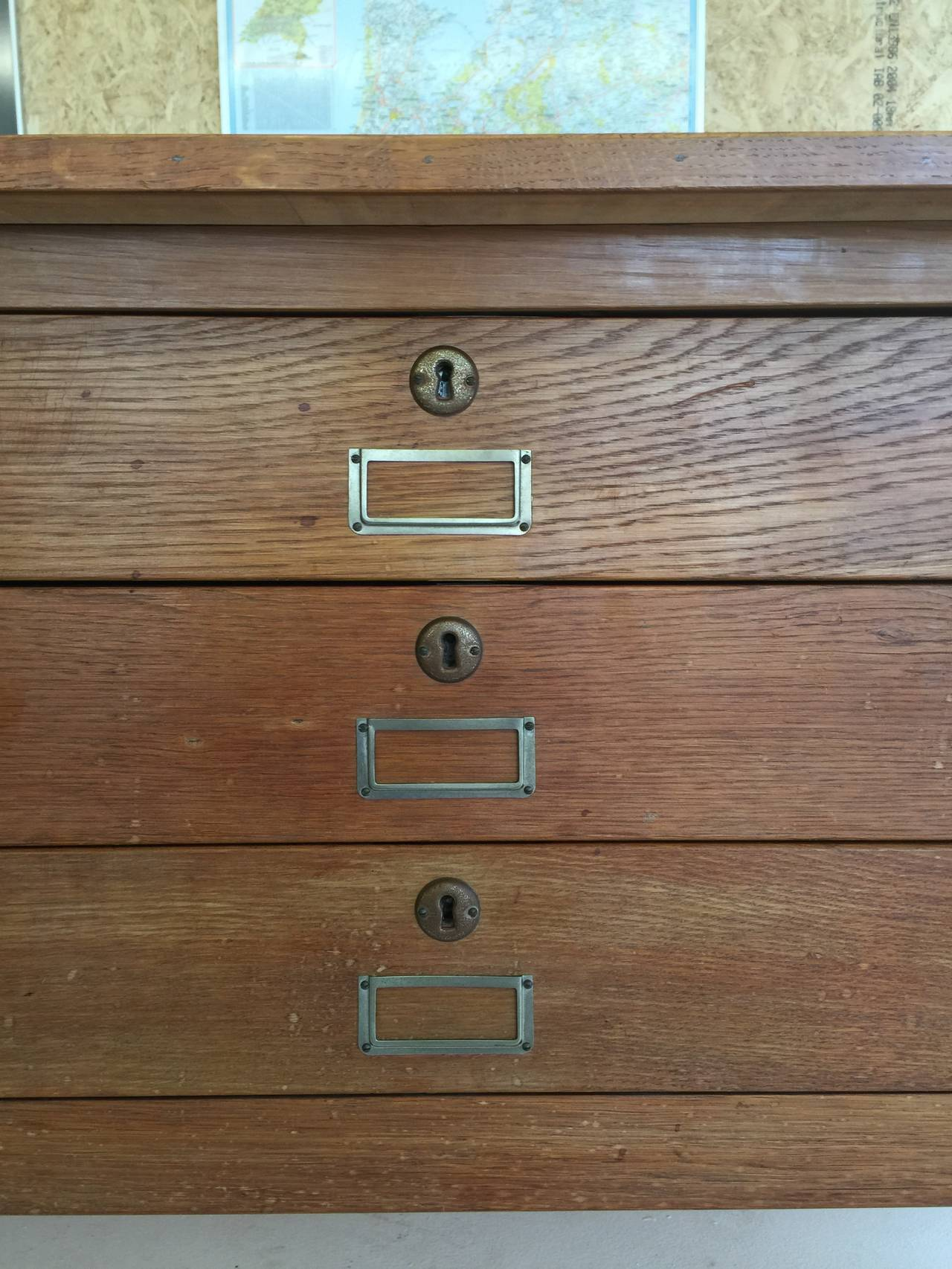 cabinet l drawer quarter nice f id sawn furniture design storage or letter oak wood drawers pieces file hardware with cabinets and case brass size modular flat grain map