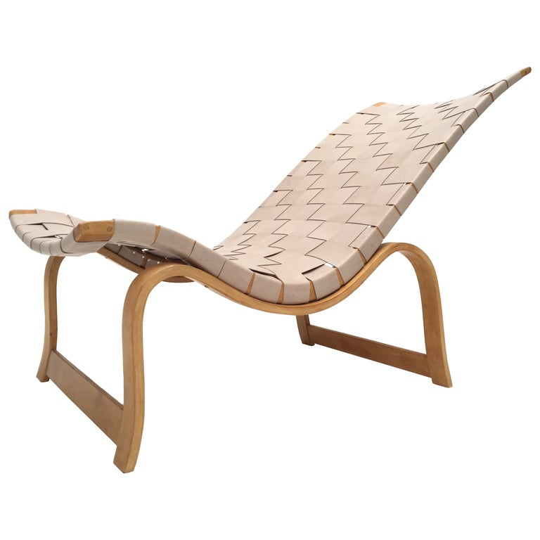 Rare Pre-War Edition Bruno Mathsson Model 36 Easy Chair Sweden 1933-1936