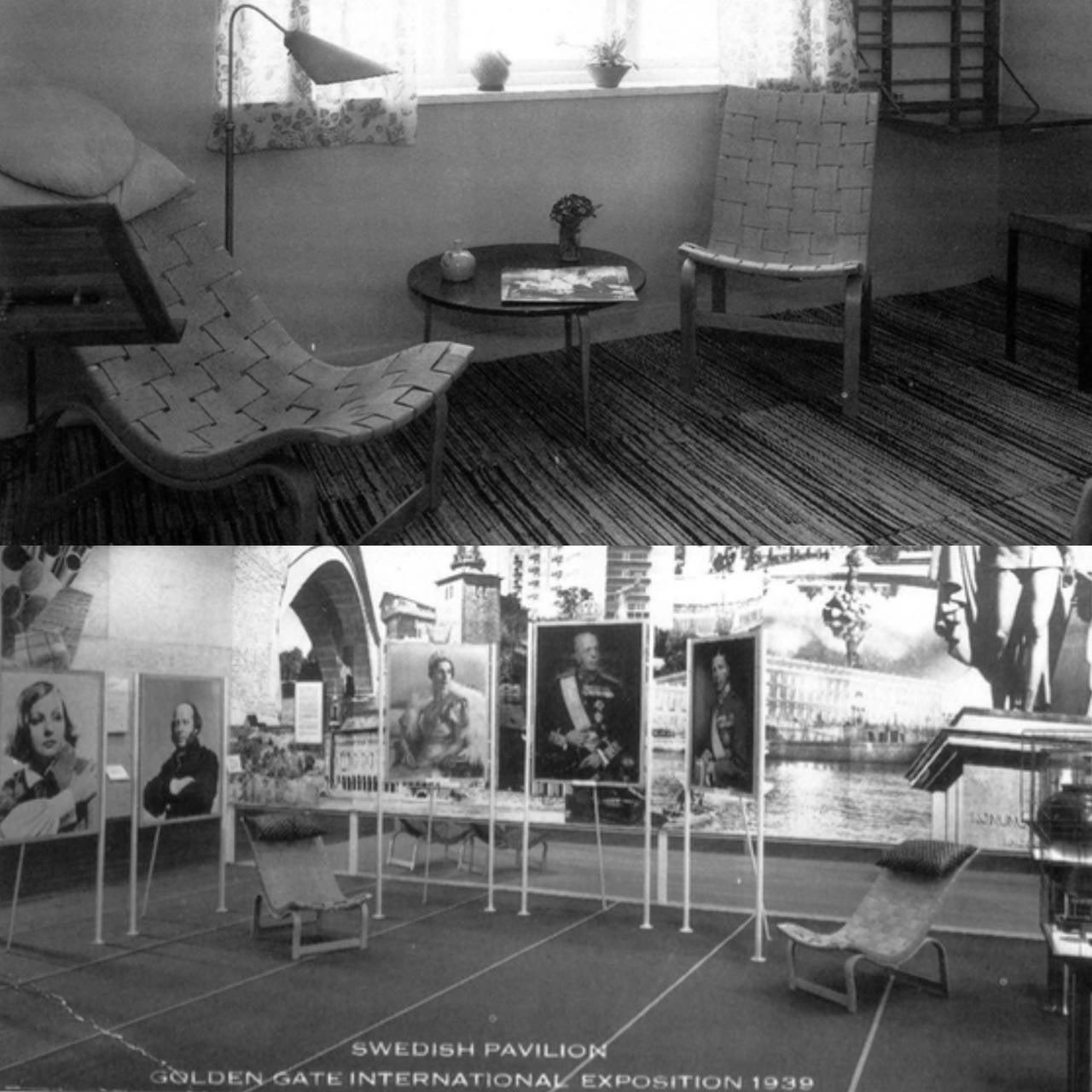 Scandinavian Modern Rare Pre-War Edition Bruno Mathsson Model 36 Easy Chair Sweden 1933-1936