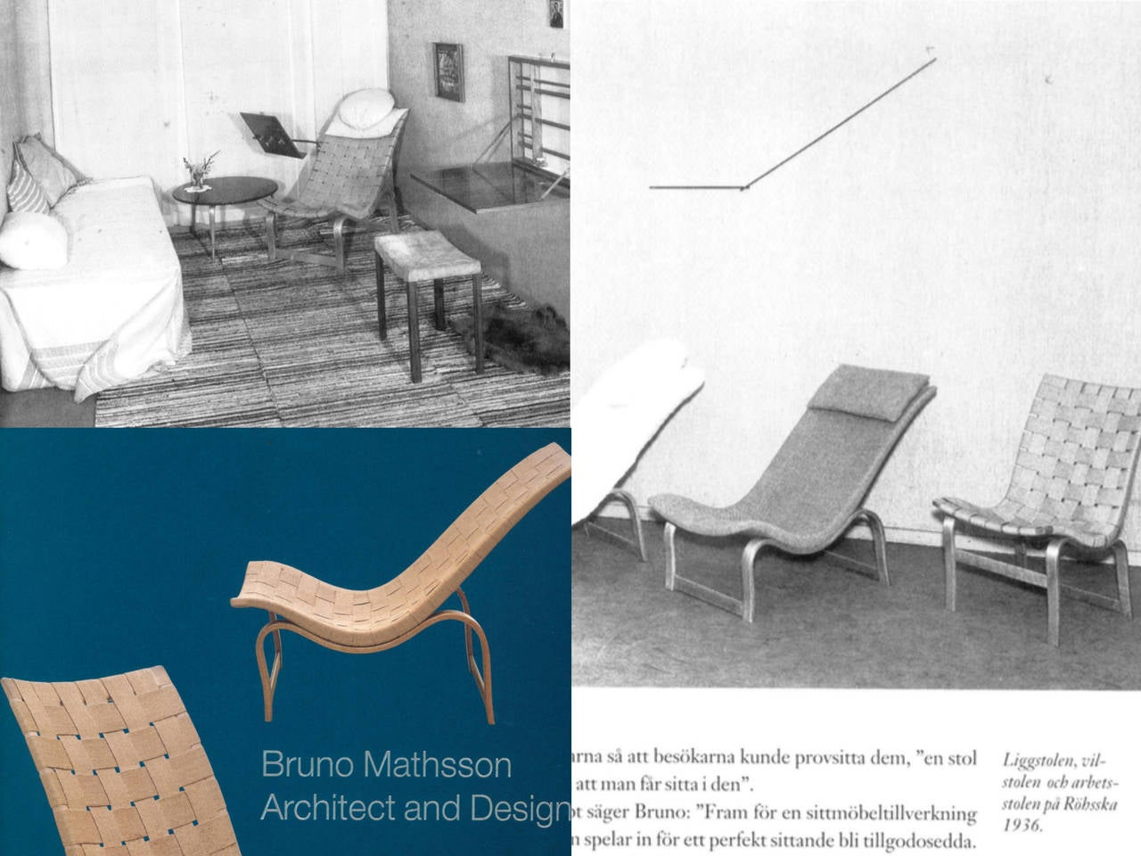 Birch Rare Pre-War Edition Bruno Mathsson Model 36 Easy Chair Sweden 1933-1936