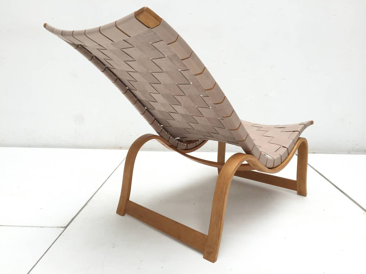 Rare Pre-War Edition Bruno Mathsson Model 36 Easy Chair Sweden 1933-1936 1