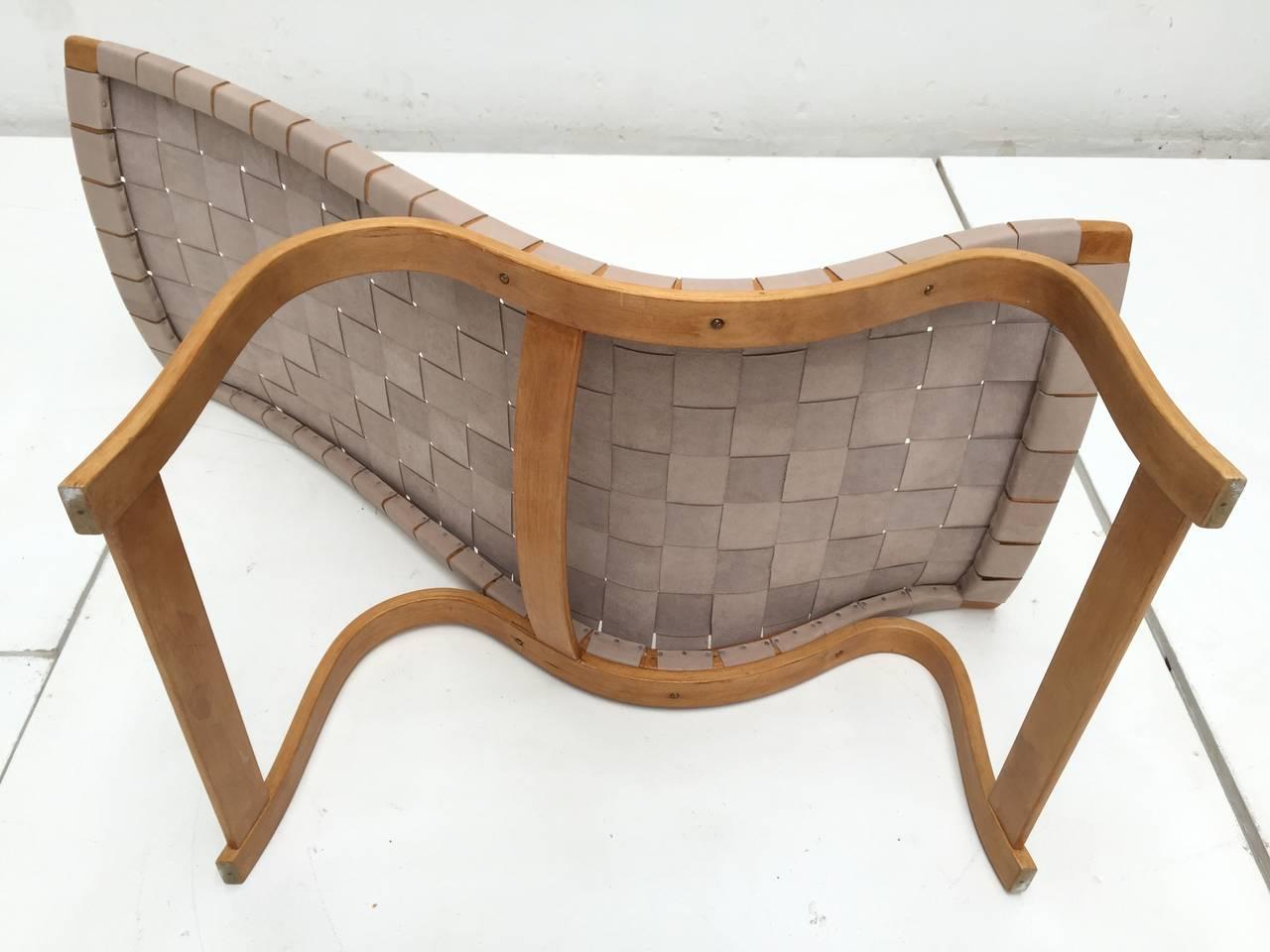 Rare Pre-War Edition Bruno Mathsson Model 36 Easy Chair Sweden 1933-1936 2