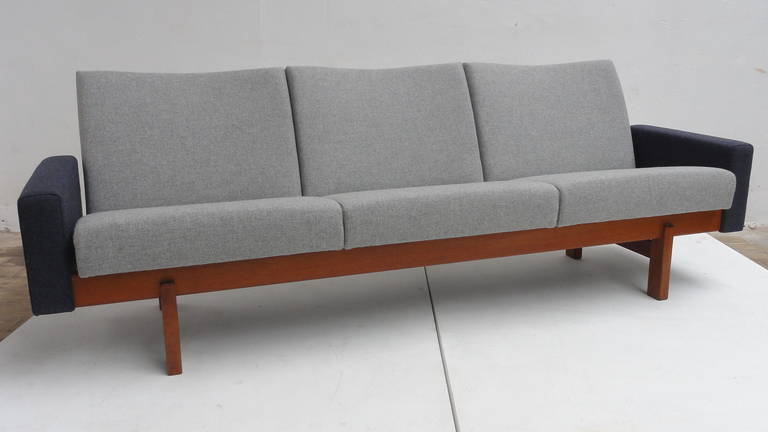 "Rare Original 1959 Yngve Ekstrom""Accent'' Sofa for Swedese, Sweden For Sale at 1stdibs"