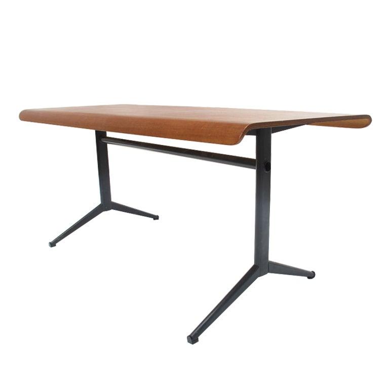 1964 Rare Friso Kramer Coffee Table For Ahrend De Cirkel: Friso Kramer Euroika Table For Auping The Netherlands 1963