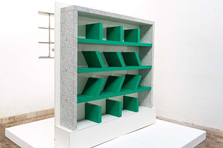 Early edition survetta bookcase by ettore sottsass for for Post modern bookshelf