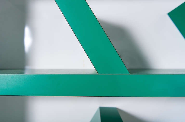Early edition SURVETTA bookcase by Ettore Sottsass for Memphis,1981 6