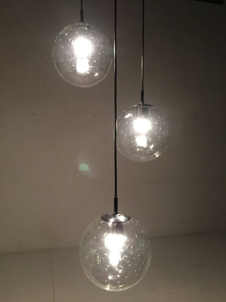 glass c globes light globe for products sculptural chandelier small