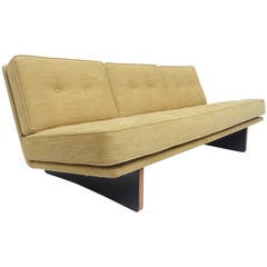 """Stunning and Rare """"Gold & Black"""" Kho Liang Ie Model 671 Sofa for Artifort, 1964"""