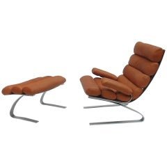 First Edition 'Sinus' Lounge Chair by Reinhold Adolf & Hans-Jürgen Schröpfer