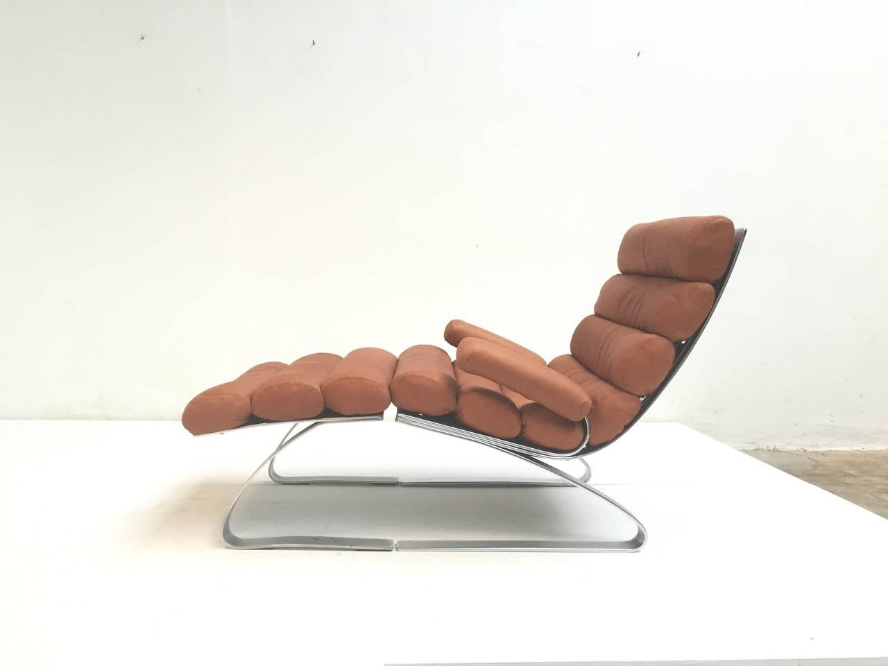 First Edition Sinus Lounge Chair By Reinhold Adolf And
