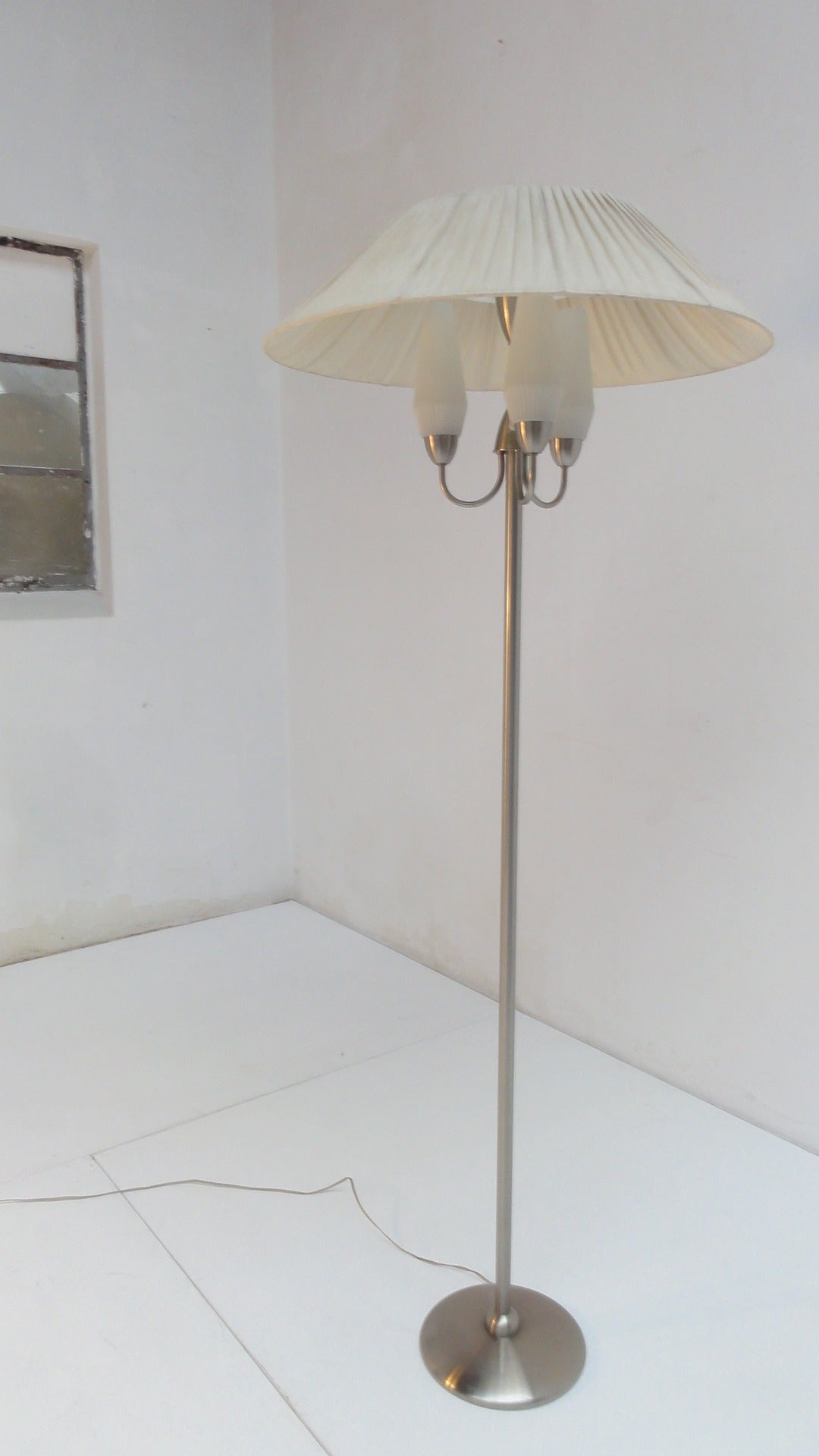 Modernist bauhaus floor lamp by wh gispen the netherlands at 1stdibs modernist bauhaus floor lamp by wh gispen the netherlands for sale 1 aloadofball Image collections