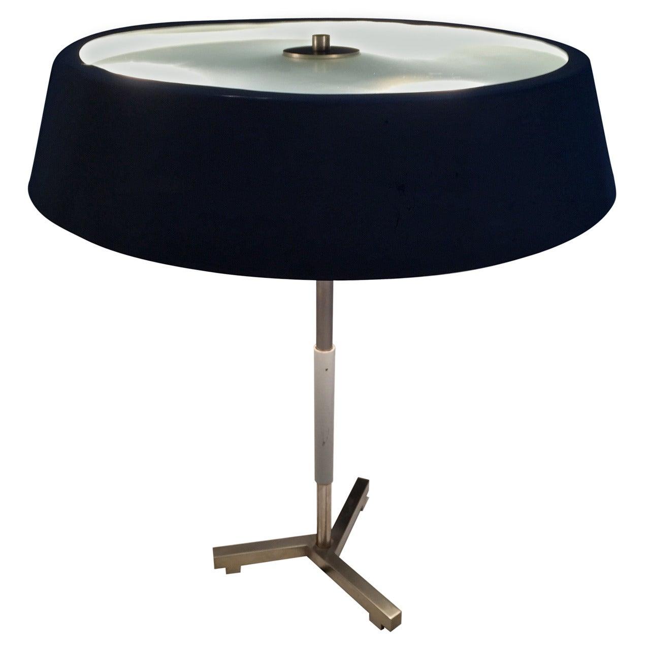Rare table lamp by H. Fillekes for Artiforte, The Netherlands
