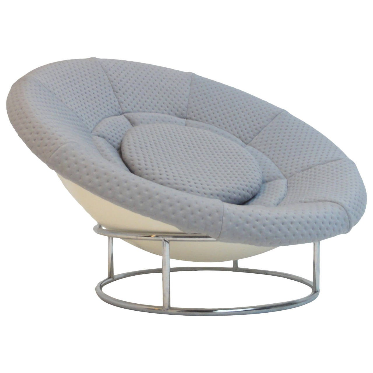 1970s 'Bird's Nest' Verner Panton Style Lounge Chair For Sale