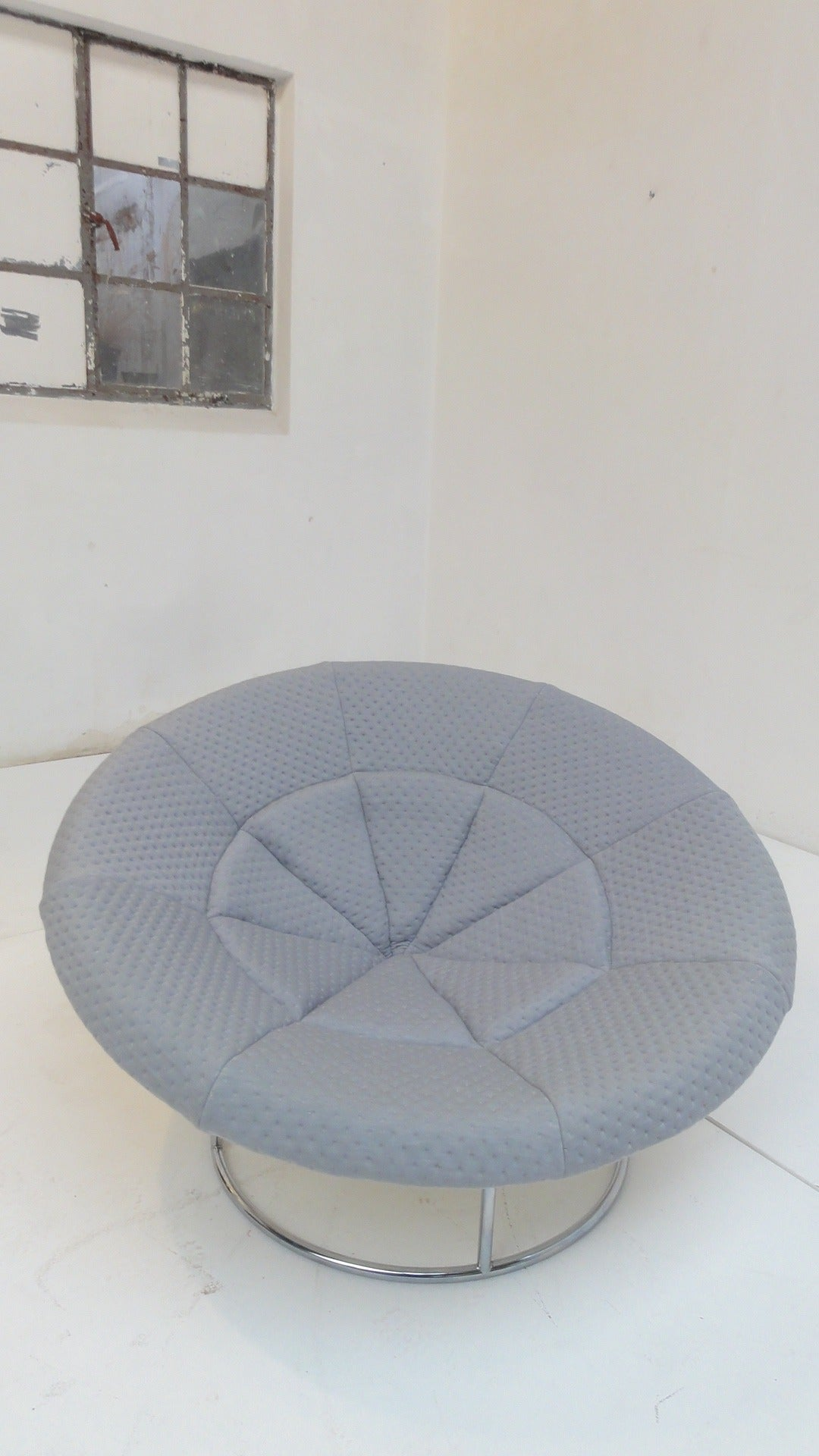 1970s 'Bird's Nest' Verner Panton Style Lounge Chair For Sale 1