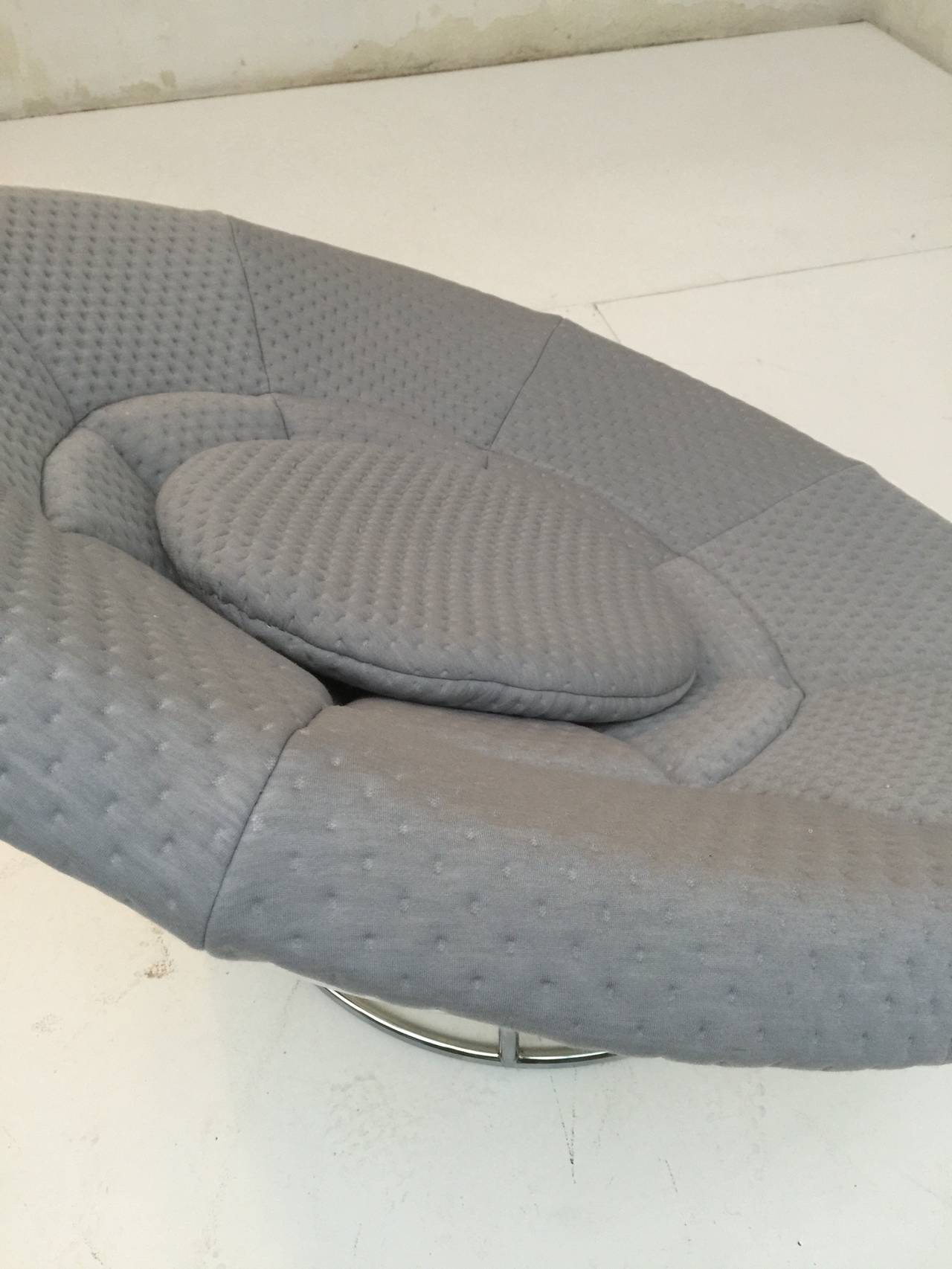 1970s 'Bird's Nest' Verner Panton Style Lounge Chair For Sale 4