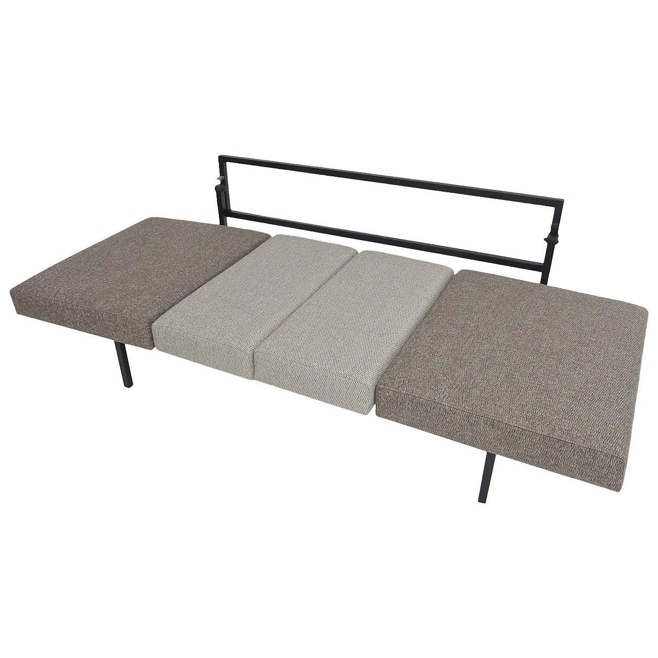 Dutch Modernist Pioneer Coen de Vries Sleeping Sofa, Devo, 1952