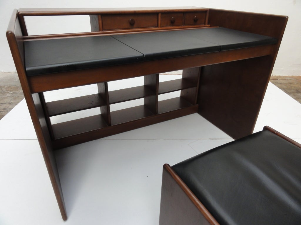 Fabio Lenci  flexible vanity unit / desk with matching chair 6