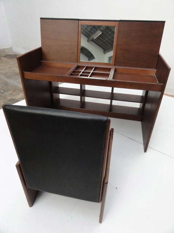 Fabio Lenci  flexible vanity unit / desk with matching chair 8