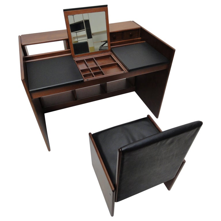 Fabio Lenci  flexible vanity unit / desk with matching chair