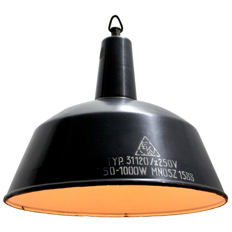 Vintage Industrial Hanging Lamp At 1stdibs