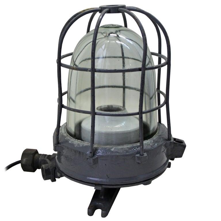 Wall Hugger Floor Lamp : Brock vintage industrial wall, ceiling or floor lamp (1x) at 1stdibs