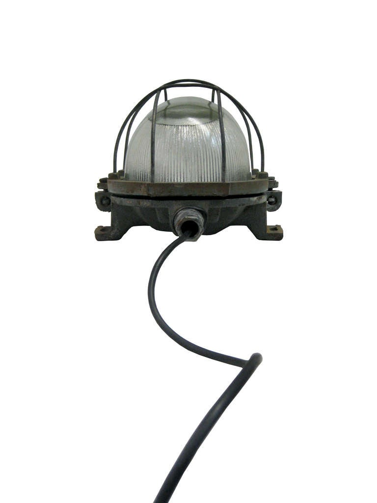 Small Industrial Wall Lights : Pila Small (2 pieces) Industrial Wall or Ceiling Light at 1stdibs