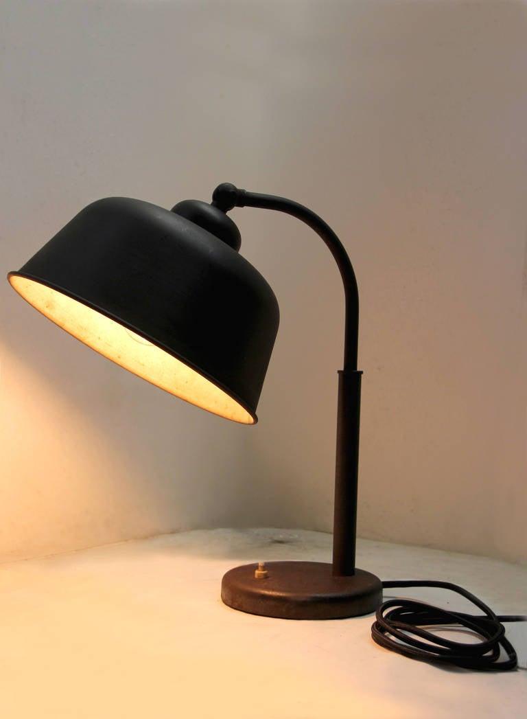 Brno Vintage black Metal Desk Lamp 3