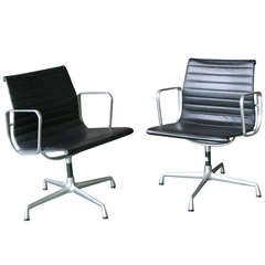 Two Chairs EA108 by Eames for Vitra