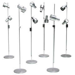 Minimalist Floor Lamps by Peter Nelson for Architectural Lighting