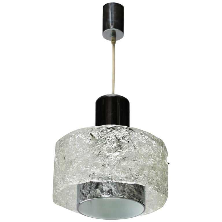 Pendant in the style of Kalmar Lighting For Sale