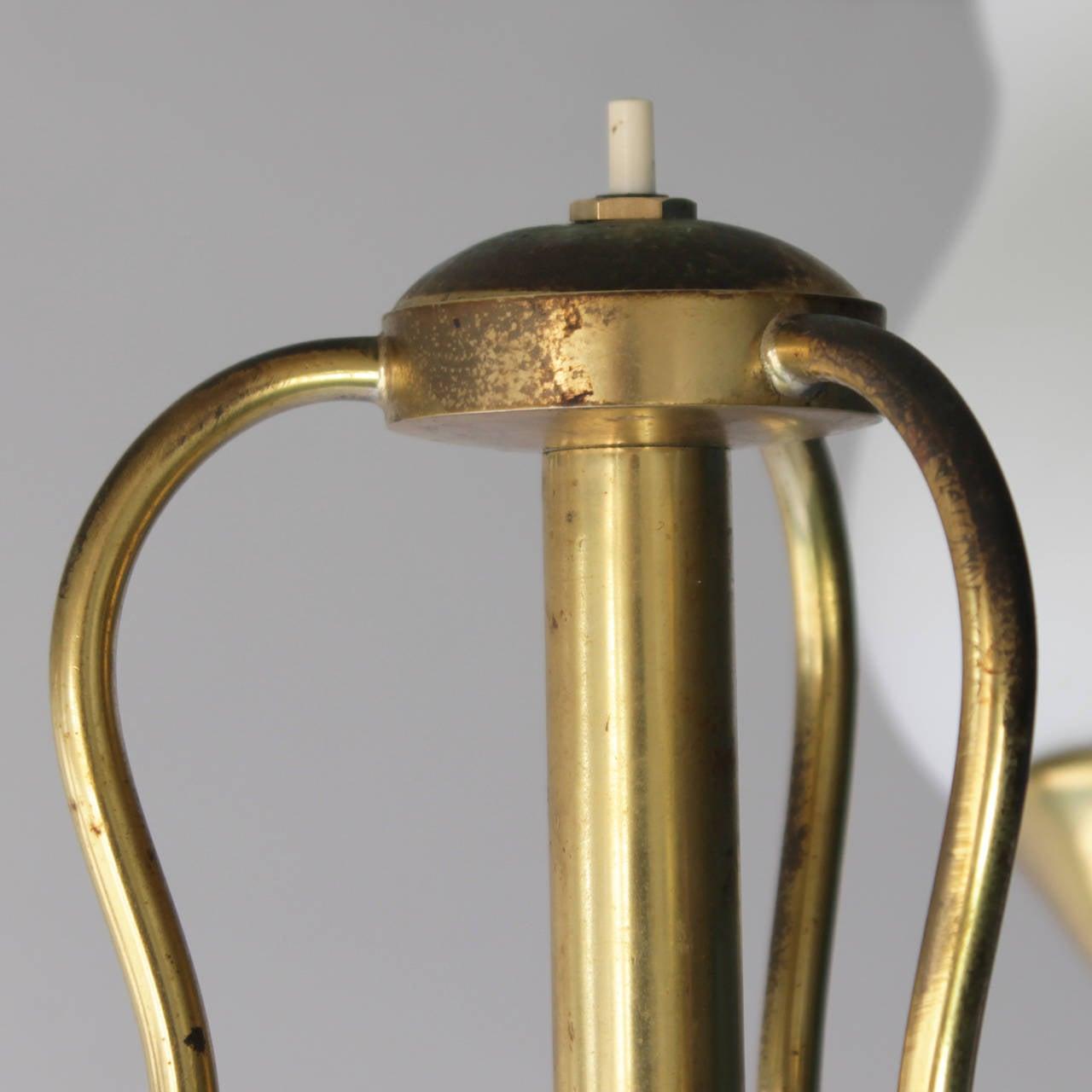 Elegant Italian Floor Lamp by Arredoluce For Sale 1