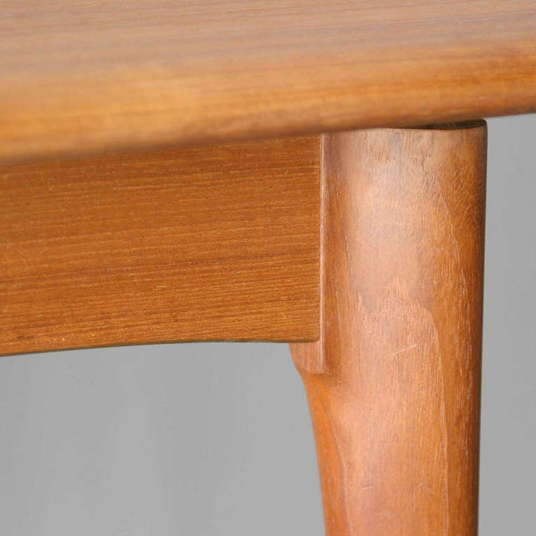 danish teak dining room table at 1stdibs