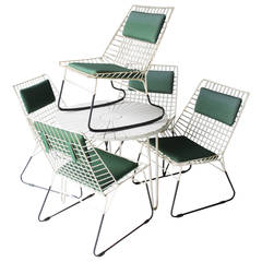 Set of Five Flamingo Chairs by Cees Braakman for Pastoe