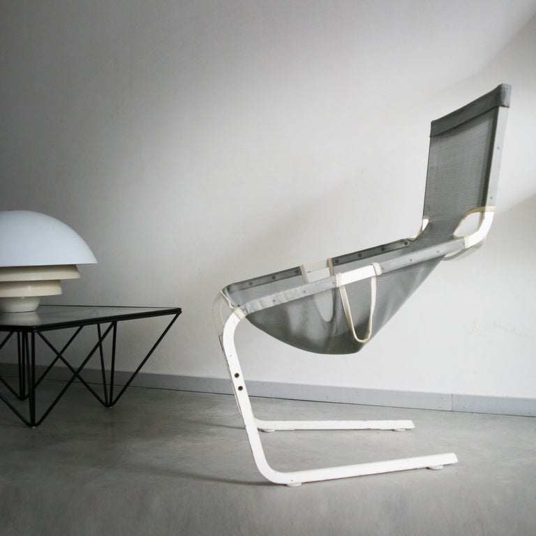 Mid-Century Modern F444 by Pierre Paulin for Artifort Lounge Chair For Sale