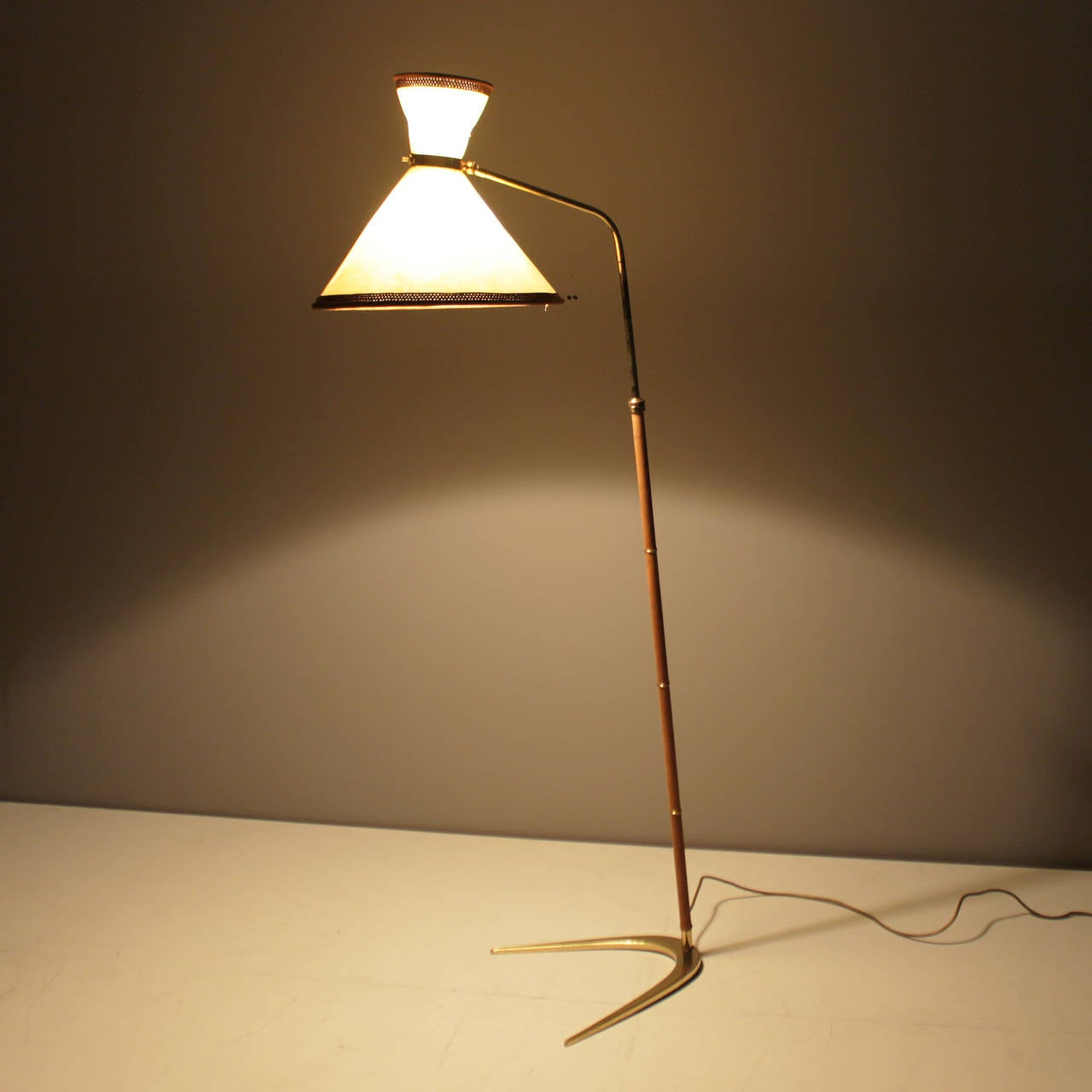 this floor lamp in the style of j t kalmar is no longer available. Black Bedroom Furniture Sets. Home Design Ideas
