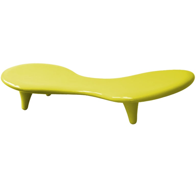 Marc newson orgone chaise lounge images frompo for Chaise longue lockheed lounge