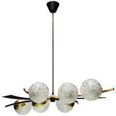 Pendant Light in the Style of Stilnovo