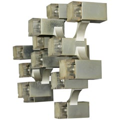 Cubic Sciolari Wall Light or Flush Mount