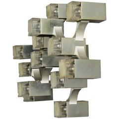 Cubic Sciolari Wall Light or Flush Mount