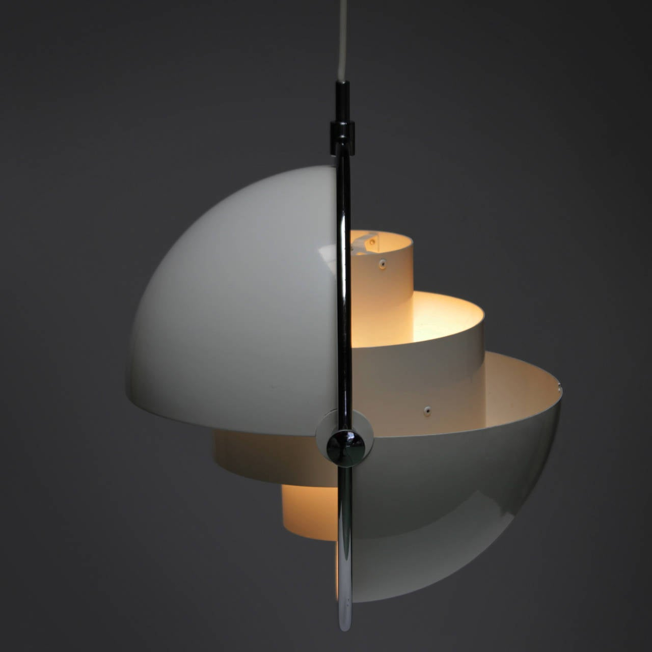 Multi Light Pendant By Louis Weisdorf For Lyfa At 1stdibs