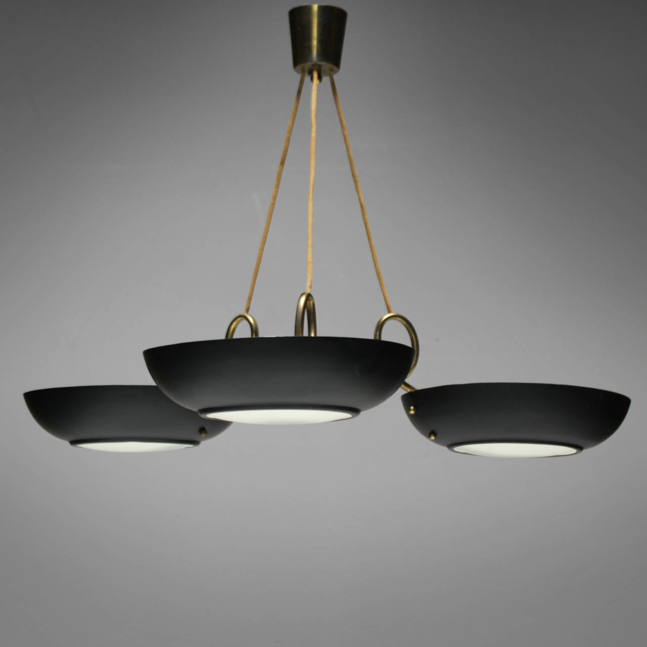 Three Light Chandelier By Philips At 1stdibs
