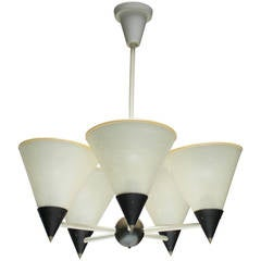 Chandelier in the Style of Mathieu Mategot