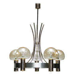 French Five-Light Chandelier