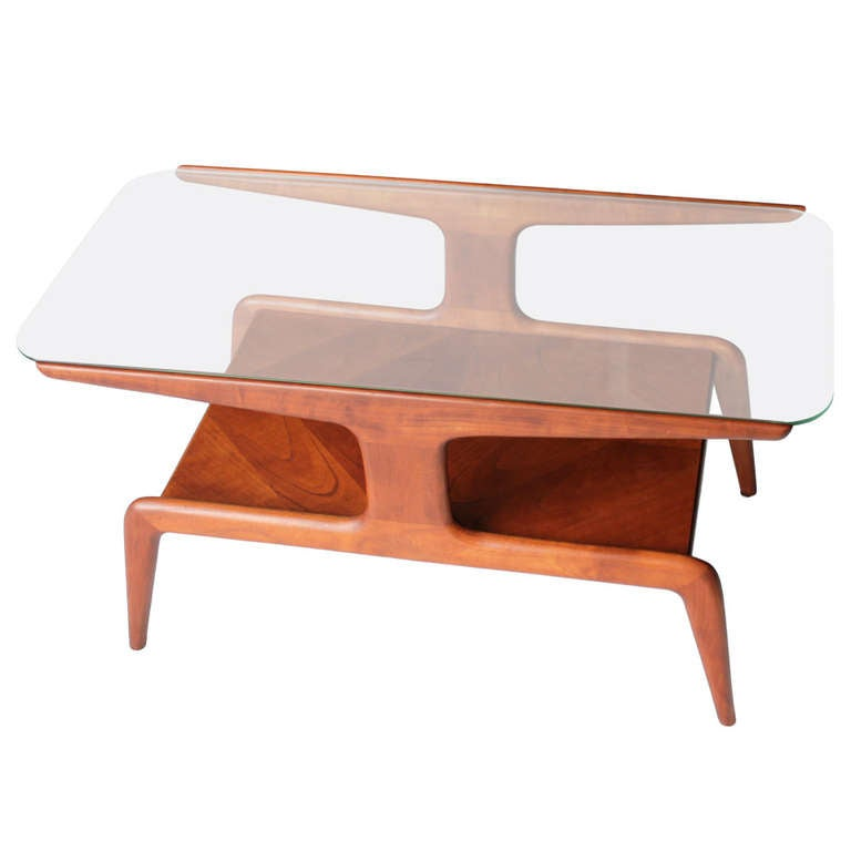Coffee Table attributed to Gio Ponti for Domus Nova Italy 1