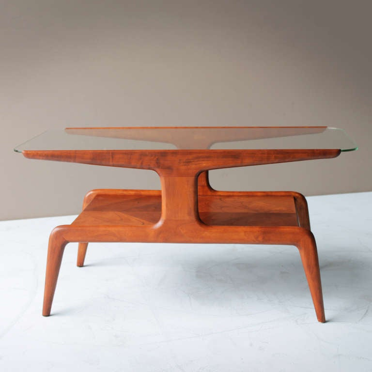 Coffee Table attributed to Gio Ponti for Domus Nova Italy 2