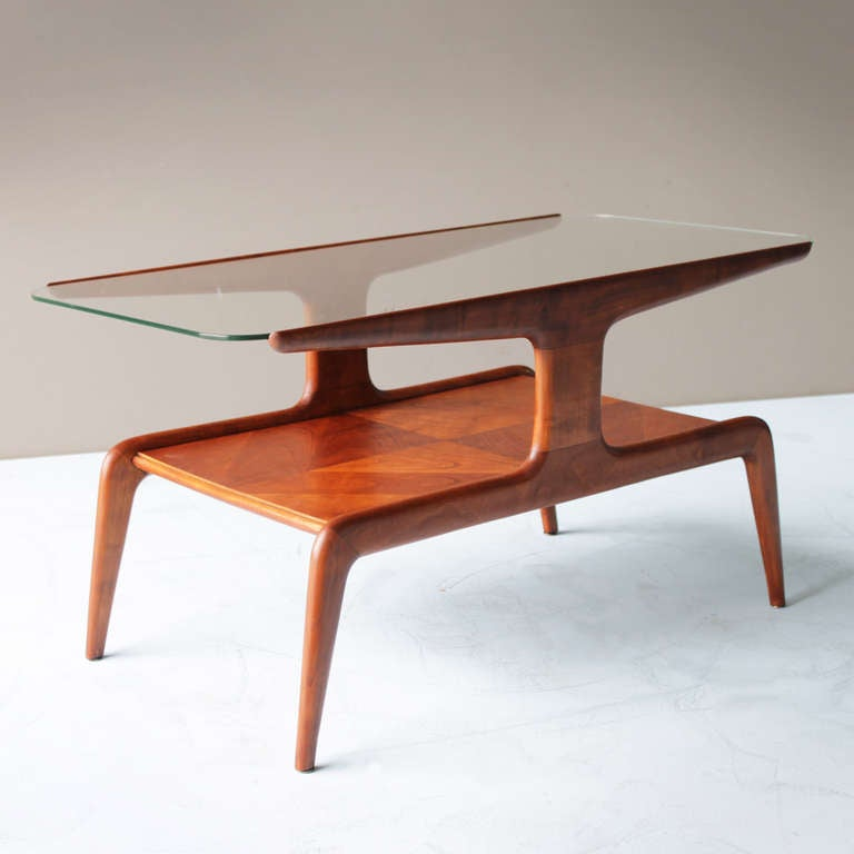 Coffee Table attributed to Gio Ponti for Domus Nova Italy 3