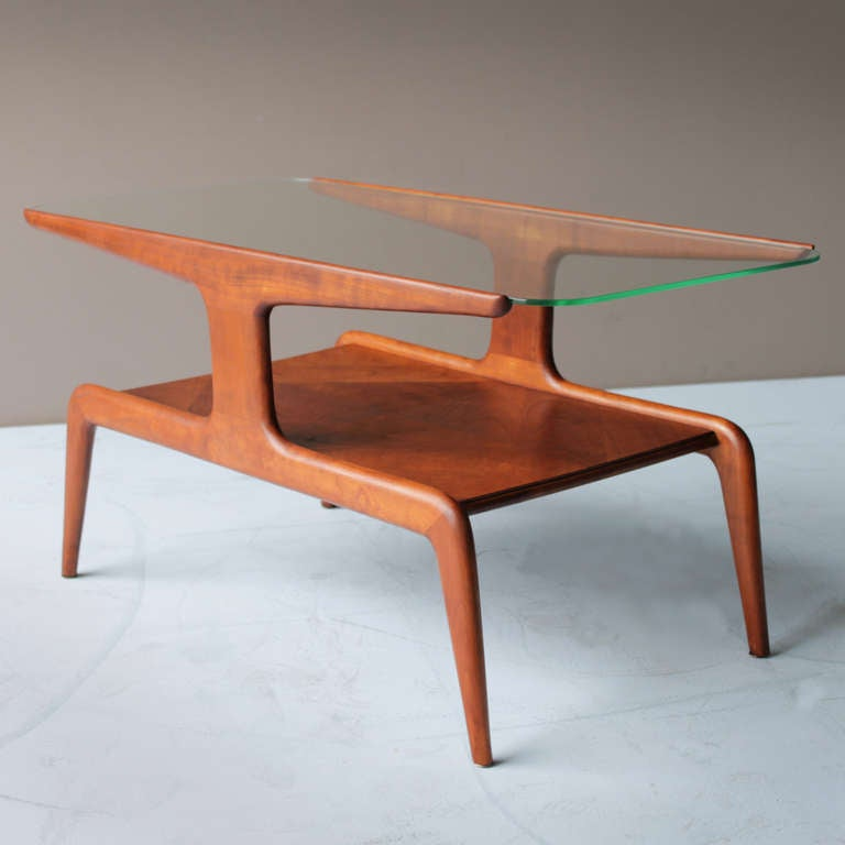 Coffee Table attributed to Gio Ponti for Domus Nova Italy 4